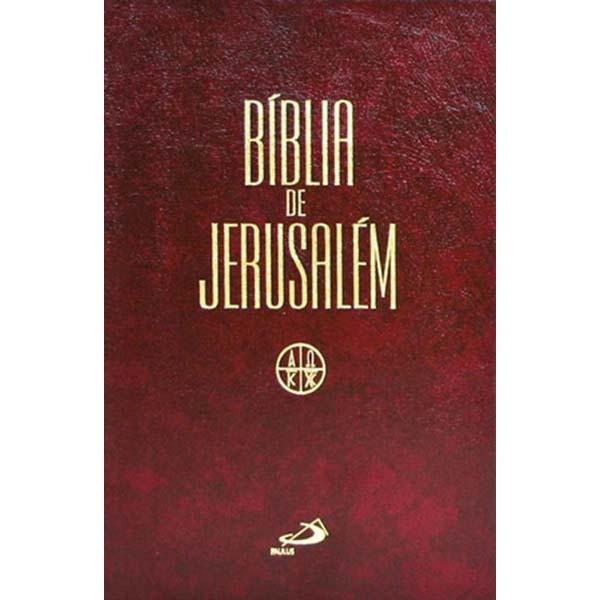 Bíblia de Jerusalém - média/zíper - Revisada