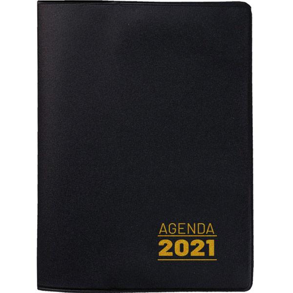 Agenda de bolso 2021 - preta