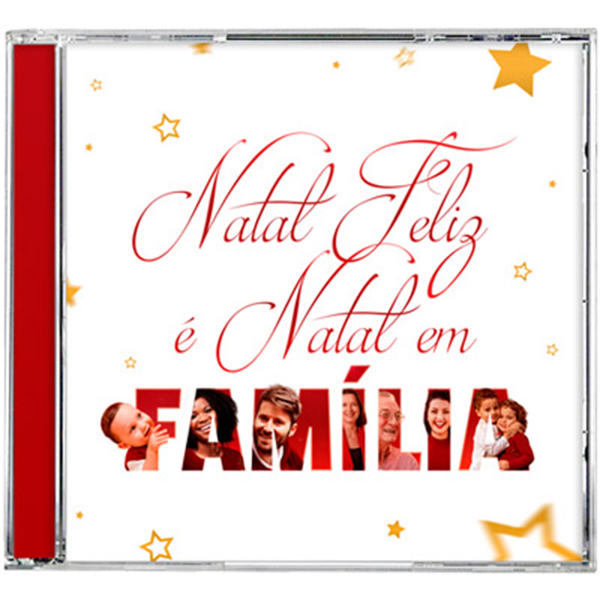 Natal feliz é natal em família