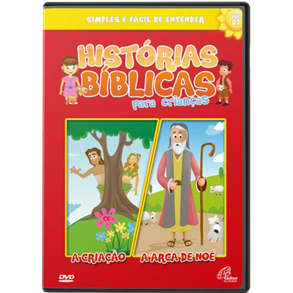 Histórias bíblicas para crianças - vol. 1 (48 min.)