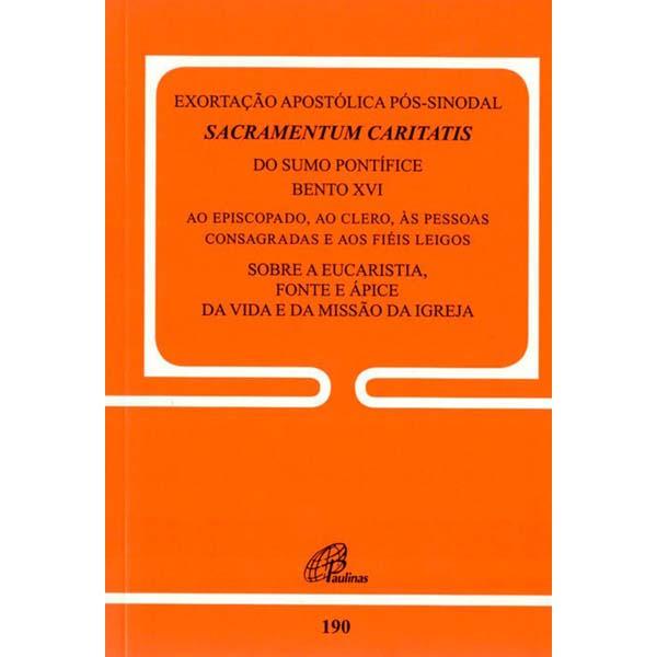 Exortação apostólica pós-sinodal Sacramentum Caritatis - doc. 190