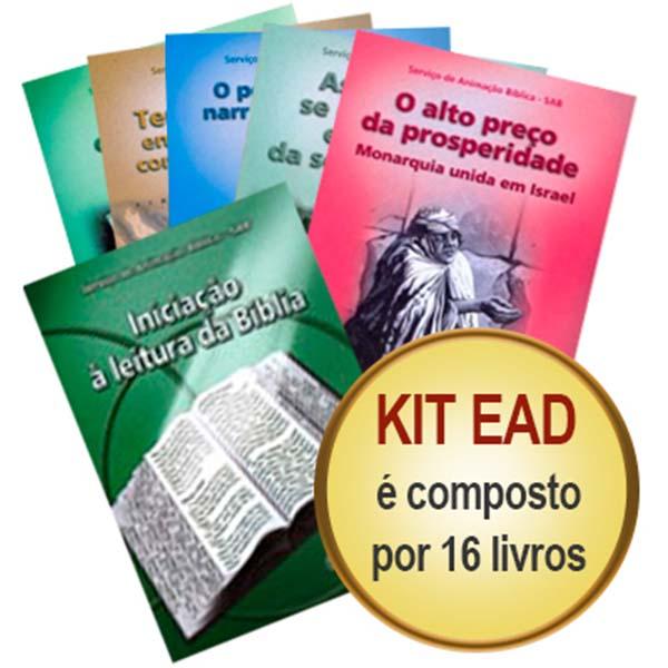 Kit EAD Visão Global da Bíblia - 16 livros