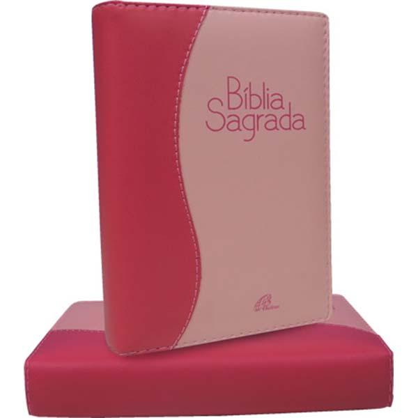 Bíblia Sagrada - Nova tradução na ling. de hoje - Fem. Pink/Rosa (bolso)