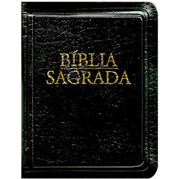 Bíblia Sagrada - Nova tradução na linguagem de hoje (bolso - zíper  preta)