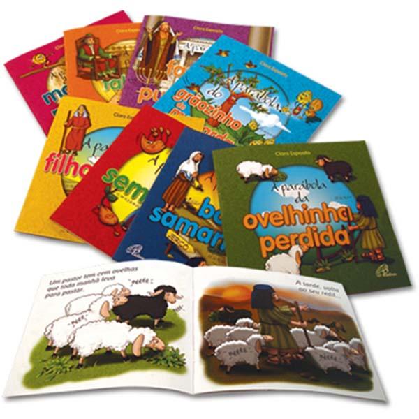 Coleção Parábolas (8 títulos)