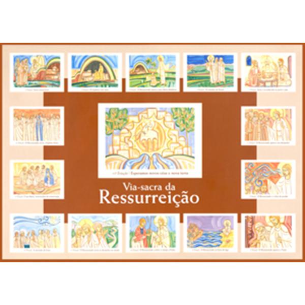 Via-sacra da ressurreição (coleção de 15 cartazes)