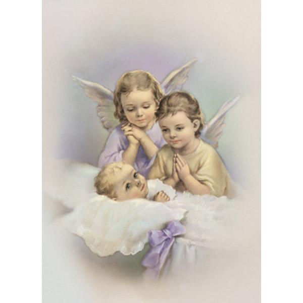 Imagem 02 - Menino com anjos