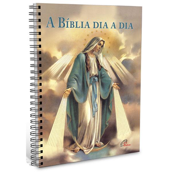 Bíblia dia a dia 2021 - wire-o - Nossa Senhora