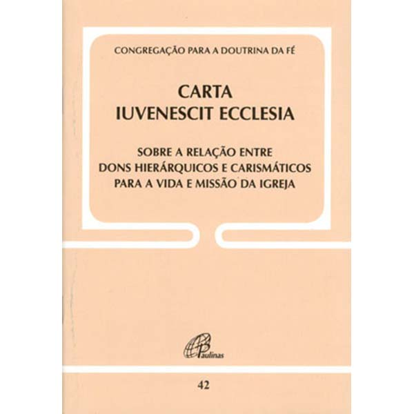 Carta Iuvenescit Ecclesia - Doc. 42