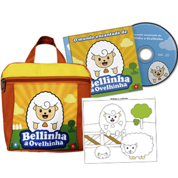 KIT - Mundo encantado de Bellinha (CD e bolsa)