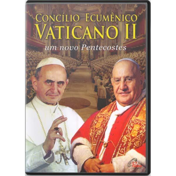 Concílio Ecumênico Vaticano II - DVD - 70 min.
