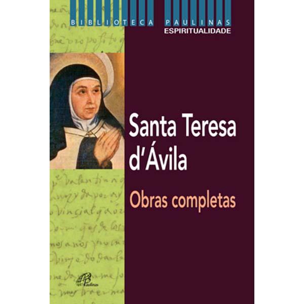 Santa Teresa d`Ávila - obras completas