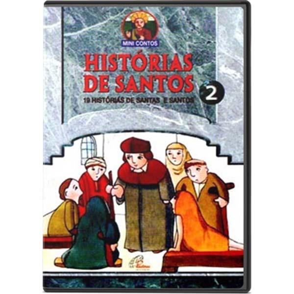 Histórias de Santos: 19 histórias de Santas e Santos - vol. 2 - 90 min.