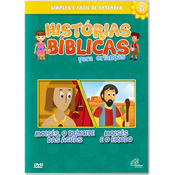Histórias bíblicas para crianças - vol. 2 (50 min.)