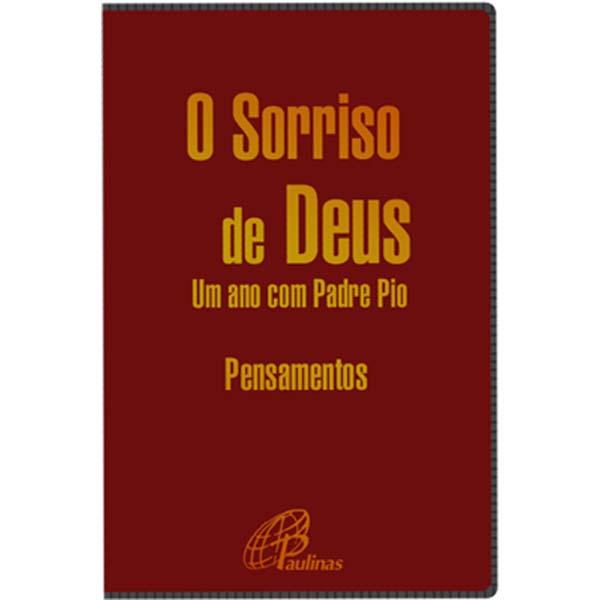 Sorriso de Deus (O) - Um ano com Padre Pio (Capa vermelha)