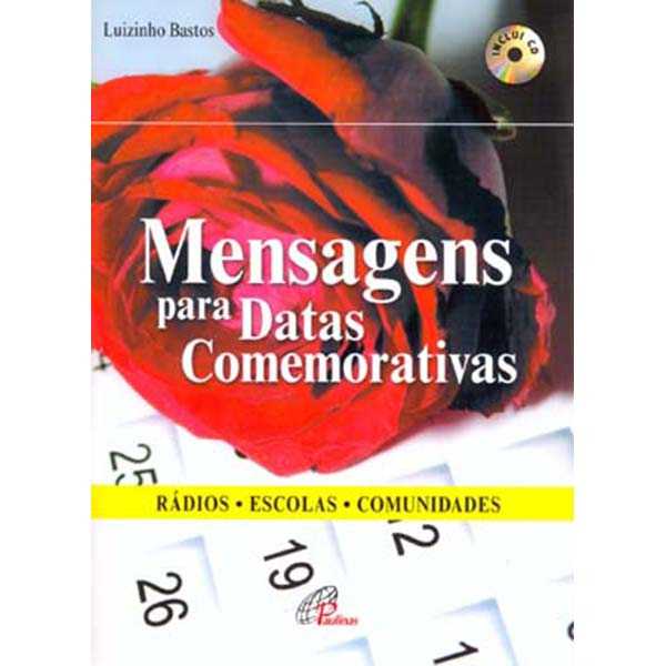 Mensagens para datas comemorativas (inclui CD)