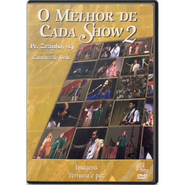 Melhor de cada show 2 (O) - Pe. Zezinho e Cantores de Deus - 113 min.