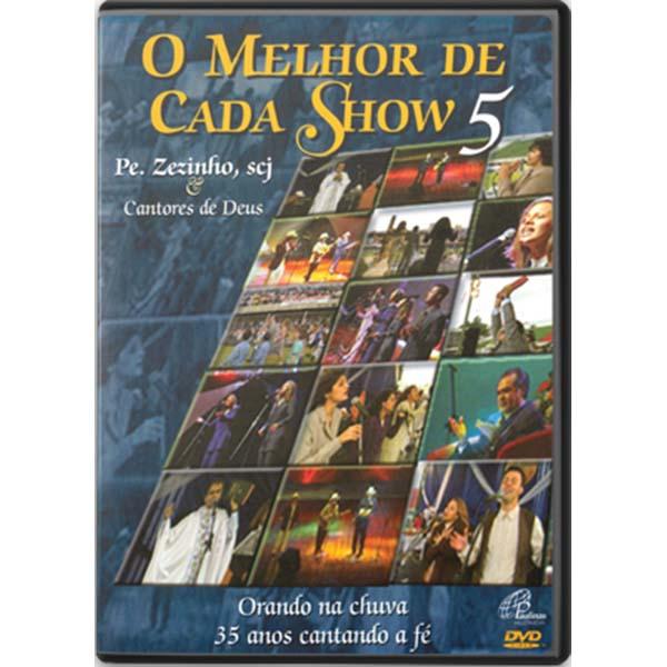 Melhor de cada show 5 (O) - Pe. Zezinho e Cantores de Deus - 87 min.