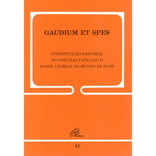 Gaudium et Spes - 41