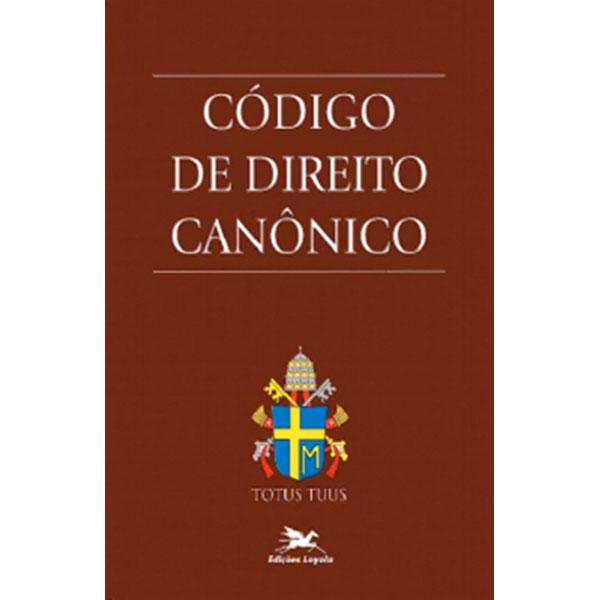 Código de Direito Canônico - Capa plástica/ bolso = 4499