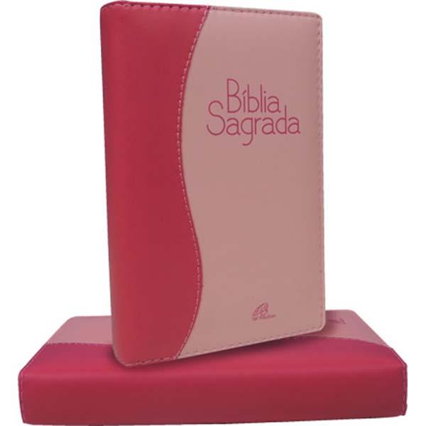 Bíblia Sagrada - Nova tradução na linguagem de hoje - (Média/Pink/Rosa)