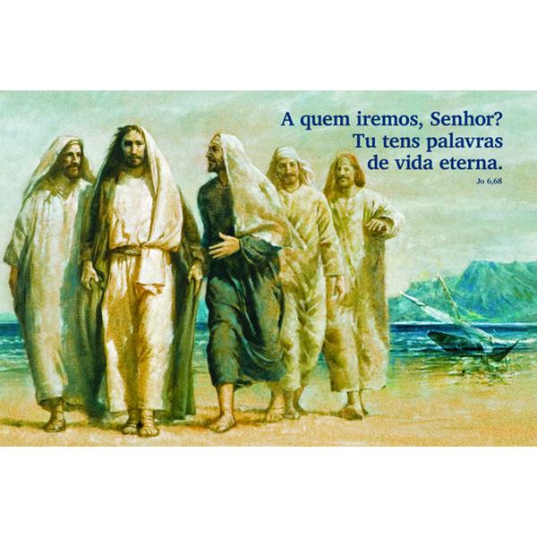 Pintura 85 - Jesus e os discípulos
