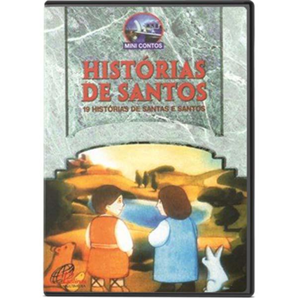 Histórias de Santos: 19 histórias de Santas e Santos - vol. 1- 80 min.