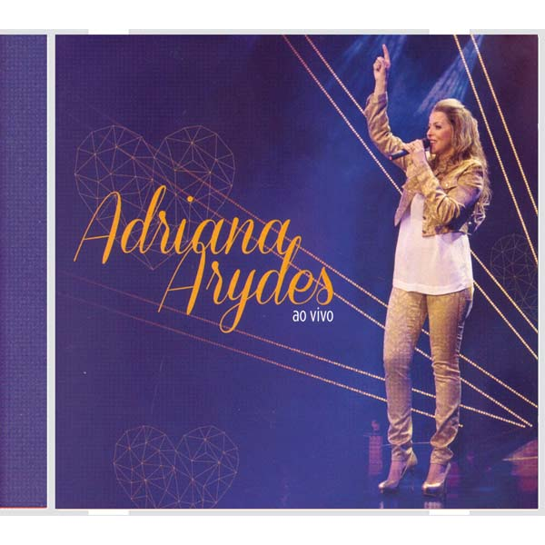 Adriana Arydes ao vivo - CD