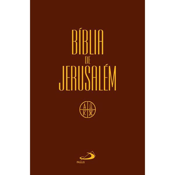 Bíblia de Jerusalém - média / capa cristal