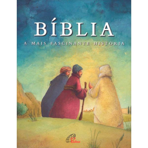 Bíblia a mais fascinante história - capa Emaús