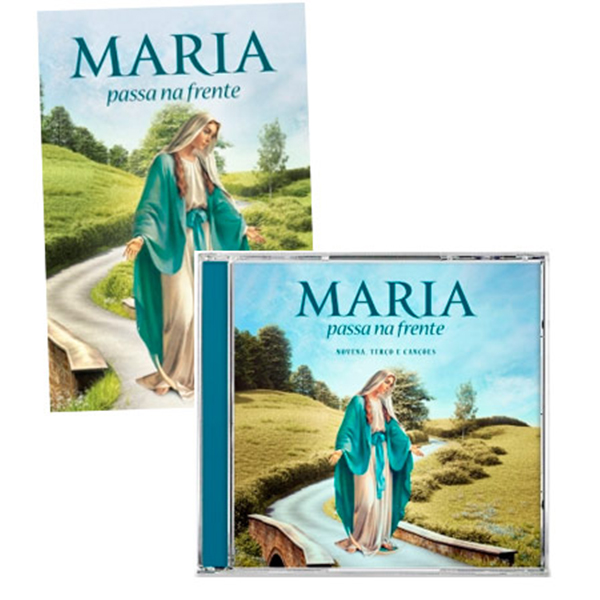 Kit - Maria passa na frente (livro e CD)