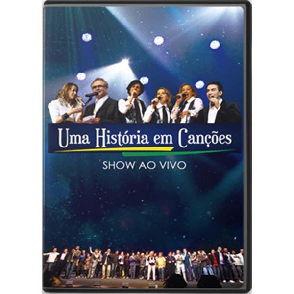 Uma história em canções - DVD duplo