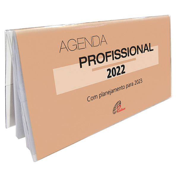 Agenda profissional 2022 - com planejamento para 2023