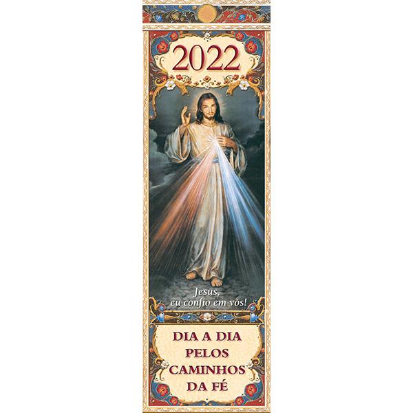 Dia a dia pelos caminhos da fé 2022 - Calendário dos Santos