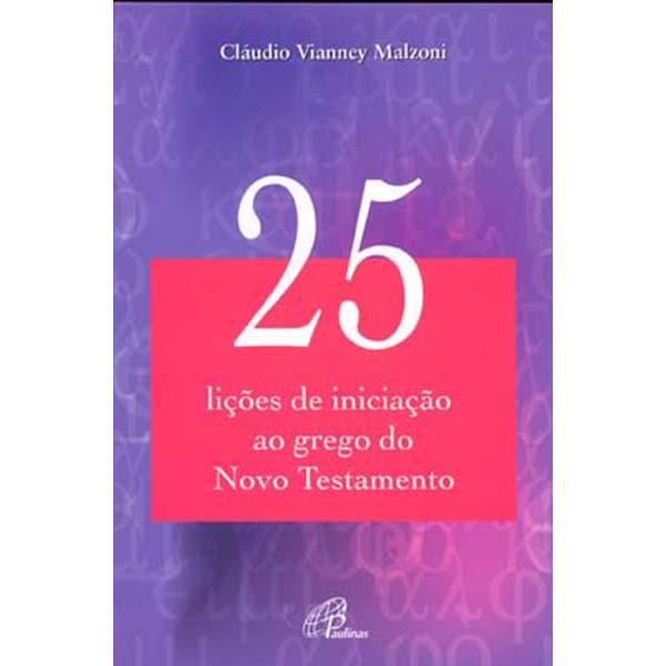 25 lições de iniciação ao grego do Novo Testamento