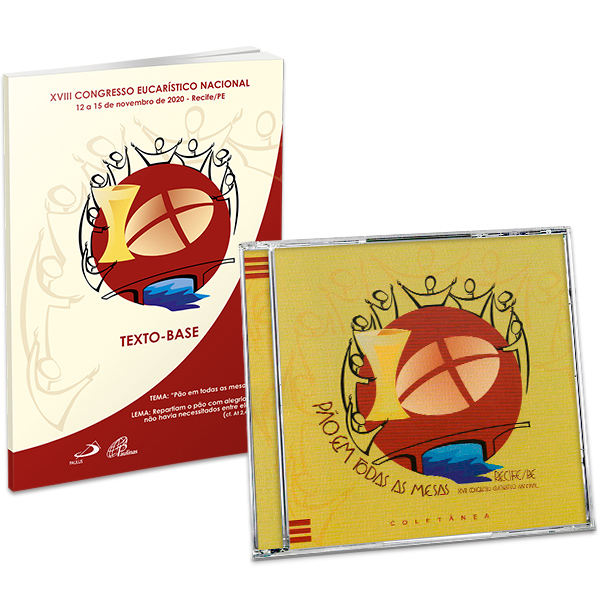 KIT - CD pão em todas as mesas + XVIII Congresso Euc. Nacional - Texto base