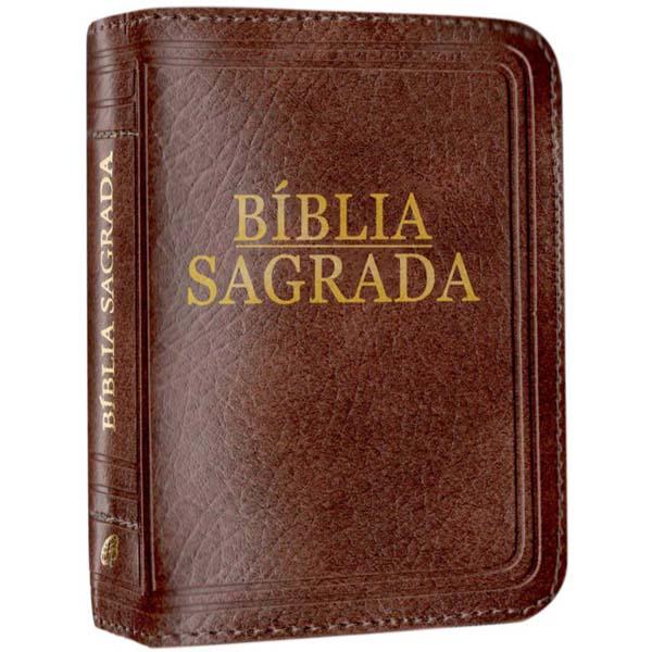 Bíblia Sagrada - Nova tradução na linguagem de hoje (bolso - zíper marrom)