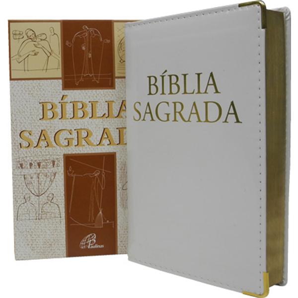 Bíblia Sagrada - Nova tradução na linguagem de hoje - Branca / luxo