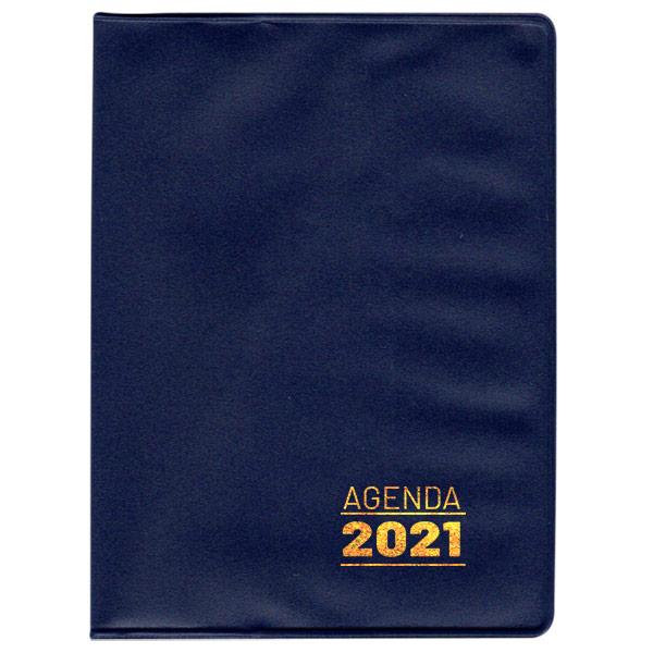 Agenda de bolso 2021 - azul