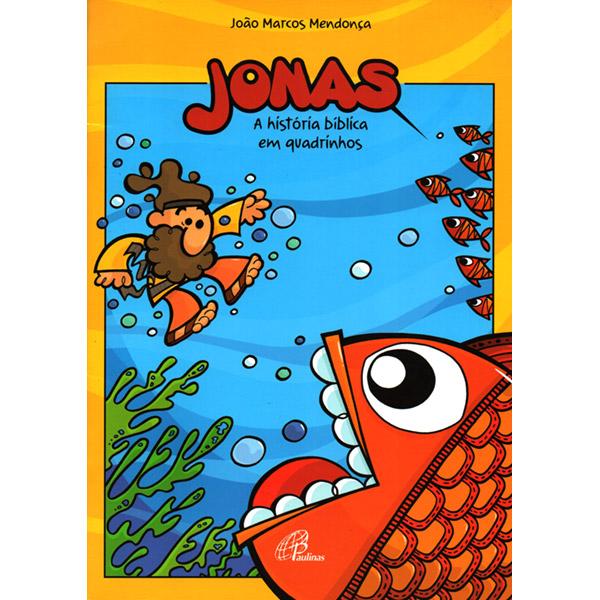 Jonas - A história bíblica em quadrinhos