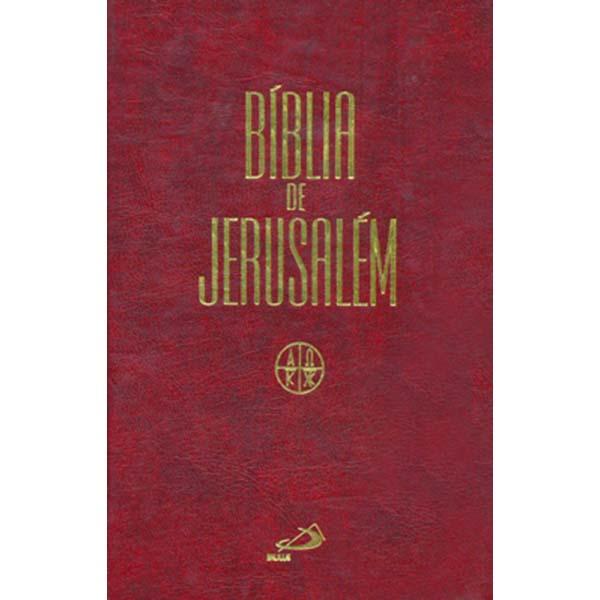 Bíblia de Jerusalém - média/encadernada - Revisada
