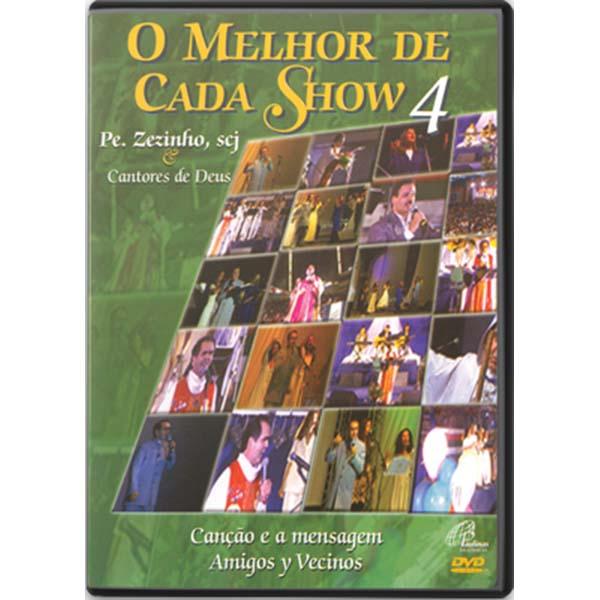 Melhor de cada show 4 (O) - Pe. Zezinho - 75 min.
