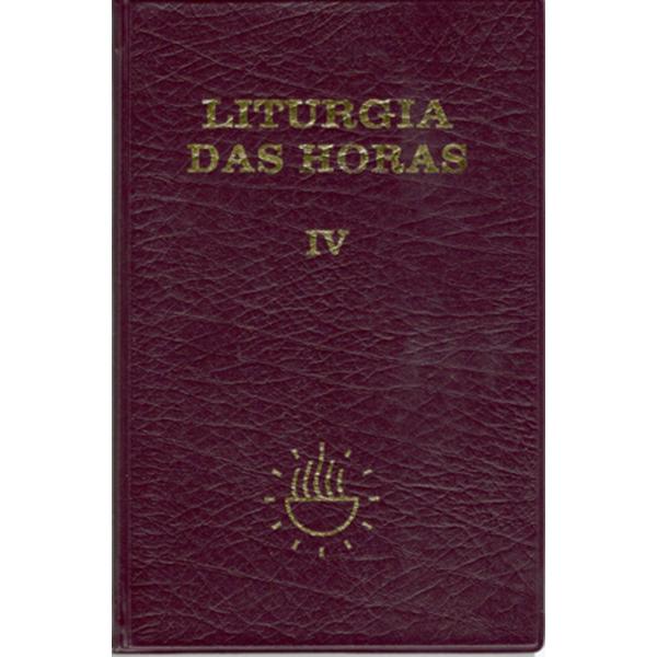 Liturgia das Horas - Vol. IV / / Tempo Comum 18 a 34
