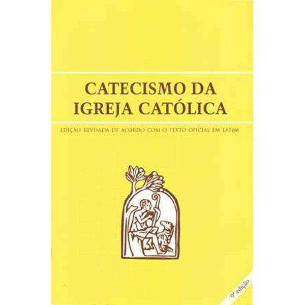 Catecismo da Igreja Católica - Bolso - Capa Cristal