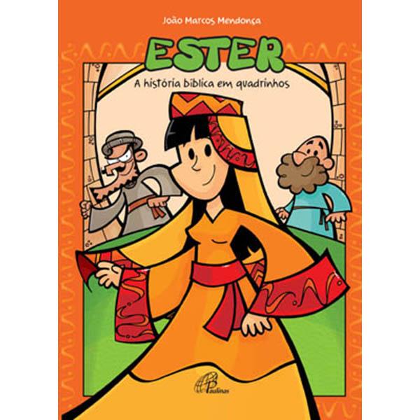 Ester - A história bíblica em quadrinhos